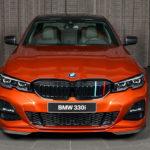 BMWアブダビが新型3シリーズのカスタム一番乗り!純正エアロキットはなかなか格好いいぞ