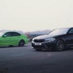 【動画】BMW M3とM5とが加速対決。M3は100馬力アップのチューンドカーなのにM5に歯が立たない理由はコレだ