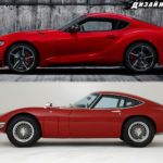 新型トヨタGRスープラを2000GT、BMW Z4、80スープラ、FT-1と比較すると?意外な共通点が見えてきた