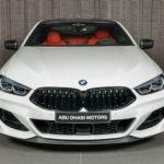 """BMWアブダビがACシュニッツァーのエアロパーツを装着した8シリーズを公開。内装は""""インディビデュアル""""によるメリノレザー"""