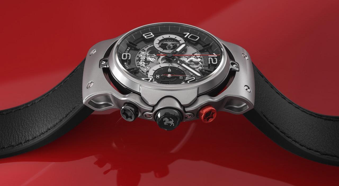 フェラーリ×ウブロのコラボ腕時計新作、「フェラーリGT」発売。モンツァSP1/SP2のデザインチームによる、美しく優雅な新シリーズ