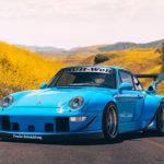 911(993)ベース、RWBポルシェ最新作が登場!フェンダーエクステンション、カーボン製テールパイプなど新デザインが採用に
