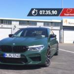 【動画】BMW M5コンペティションがニュルにて「セダン歴代2位」「BMW歴代2位」の7:35.90を記録。そしてBMWは「Vision M Next」の発表を予告