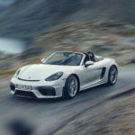 新型ポルシェ「718ボクスター・スパイダー」発表!出力はケイマンGT4と並ぶ420馬力、エンジンは4リッター自然吸気
