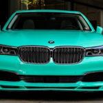 「ミントグリーン」のアルピナB7(BMW 7シリーズ)が目撃される!まさかアルピナがこのボディカラーを製造するとは