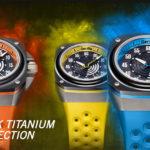 大人気の腕時計「ゴリラウォッチ」新作発表!削り出しチタンケースにセラミックベゼル採用、この品質で破格の127,440円