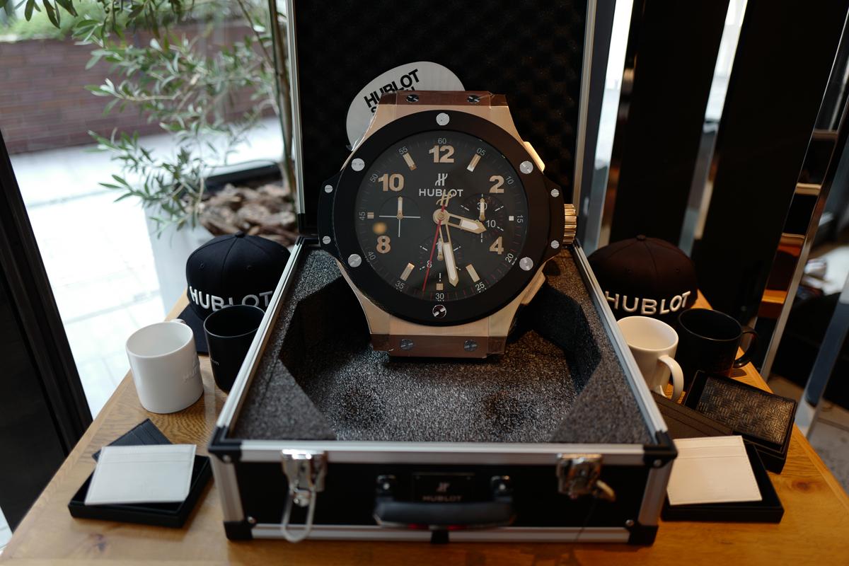 ウブロの腕時計展示会