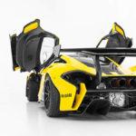 世界に5台、サーキット専用の「マクラーレンP1 GTR」を公道走行用にコンバートした車両が販売中。なお定員は「1名」