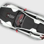 フランスの新興メーカー、プラトが発表したスーパーカー「オラジュ(Orage)」。V8自然吸気エンジンでは世界最高の888馬力を発生