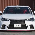 トヨタ86/スバルBRZを「レクサスのスピンドルグリルに」換装するエアロパーツが存在した!オーバーフェンダーもラインアップ