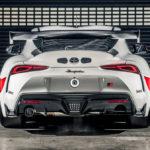 トヨタGRスープラ GT4発表!エキゾーストシステムはアクラポヴィッチ、天然素材由来のスポイラーを装着。カスタムの参考になりそうな例も