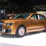 ポルシェ製V8/V12を積むと言われるロシア初の高級車、「アウルス」が初のショールームを大々的にオープン。今後は世界中での販売も