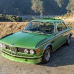 """【競売】生産わずか57台!BMW最初の「CSL」、3.0CSL""""バットモービル""""。しかも4台のみしか生産されなかったタイガ・グリーン"""