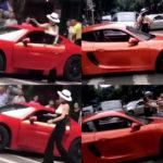 【動画】日本のあおり運転も色褪せるほど中国女性は強かった!進路を塞ぐSUVの男性ドライバーを罵り往復ビンタを食らわせる。なお乗っていたのは真っ赤なポルシェ、服装はセレブ風