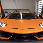 【動画】マットオレンジにグロスブラック!カラーを絞り「光沢」のコントラストで勝負したランボルギーニ・アヴェンタドール