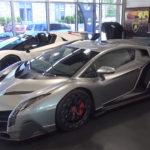 【動画】「ホワイト」ばかりのランボルギーニやフェラーリなどスーパーカーを集めるコレクター。そして馴染みのディーラーには「ヴェネーノ」が二台も