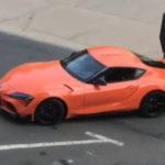 ワイルドスピード次回作(9作目)にブライアンを連想させるオレンジのトヨタ・スープラが登場!複数台用意され重要な役割を果たす?