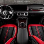 え?これがメルセデス・ベンツGクラス?まるでスポーツカーのように生まれ変わった刺激的な内装を見てみよう