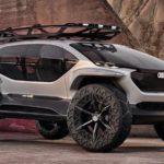 アウディがインホイール4モーターのエレクトリックオフローダー「AI:TRAIL quattro」発表。未来の自動車デザインはこうなる