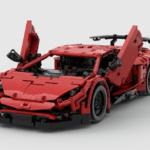 1万人が「欲しい」と言えば発売される「レゴ・アイデア」。今回はランボルギーニ・アヴェンタドールSVが登場
