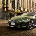 レクサスがLC、ISの特別仕様車を発表。海外で話題になった「海苔グリーン」採用、しかしさすがに日本では「海苔」を名乗らず
