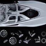 【動画】アマルガムが1/8サイズのマクラーレン・スピードテールを発表。構成されるパーツは1000点以上、その価格は160万円