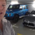 【動画】月収が8000万円と言われるユーチューバー、現在のガレージを公開。AMG G63とトヨタGRスープラが追加に