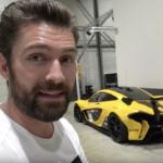 【動画】イケメンユーチューバー、シークレットガレージへ。世界に6台のフェラーリ・セルジオ、特注の488、P1 GTR、シロンなどエキゾチックカーに囲まれる