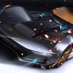 最新バットモービル「BAT80」!バットマン80周年を記念してイタリアのデザインスタジオがレンダリングを作成