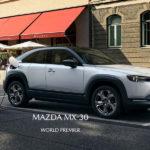 マツダ初のEV、MX-30正式発表!内装にはマツダ創業時の社名「東洋コルク製造」に敬意を表してコルクが使われている