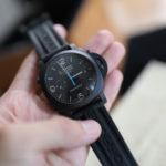"""人生「初」のパネライ腕時計を買う!ルミノール1950 3デイズ・クロノ""""チェラミカ(セラミック)""""を選んでみた"""
