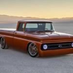 シボレーが1960年代のトラックに「ガソリンエンジンと入れ替え可能な」エレクトリックパワートレーンを押し込んだクルマを発表。未来のカスタムはこうなる