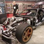 【動画】世界初!マツダRX-7を4WD化、さらに4ローター化で1800馬力に仕上げた男がいた。もはやこれはRX-7とは呼べないかも