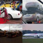 平均年収42万円のアフリカ・エスワティニにて、専制君主が21台のロールスロイス(推定13億円)の納車を受ける。ほかにも2機のジェット、20台のマイバッハほか数百台のクルマを保有か
