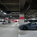 大阪で比較的スポーツカー/スーパーカーを停めやすい駐車場、「ハービスENT/ヒルトンプラザWEST」