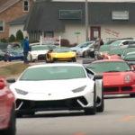 """全米が涙!亡くなった14歳の少年の""""生前の希望""""を叶えるためにアメリカ中から2,100台のスポーツカーが集まり、少年を見送る"""