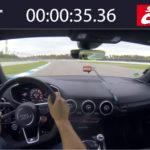 【動画】アウディTTRS速すぎ!ホッケンハイムにて先代アウディR8よりも速く、997世代のポルシェ911GT3 RSに迫るタイムを記録する