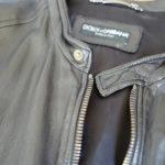 最近買ったもの2連発。「ドルチェ&ガッバーナのレザージャケット」「ディースクエアードのスリムパンツ」