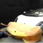 【動画】凄いなコイツ!超精巧なランボルギーニのレプリカを作る男が今回はアヴェンタドールSVJに挑戦