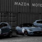 マツダが東京オートサロンにてカッコいい「モータースポーツコンセプト」、オフロードテイストのSUVを展示。ロードスター、MAZDA3、CX-5など