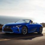 レクサスがLCコンバーチブル生産第一号車をワンオフにてカスタムして競売へ。NSX一号車の1.4億、GRスープラ一号車の2.3億に対していかほどに?