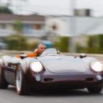 【動画】重量わずか590kg!センターシート、ボディカラーにはトヨタ純正を採用したポルシェ550スパイダー(レプリカ)が現る