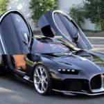 ブガッティのコンセプトカー