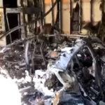 【動画】ポルシェ・タイカンが自宅ガレージ内で全焼!納車開始直後、そして初の炎上にポルシェは「調査中」