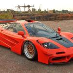 もしもセナが事故死した当時、現役だったマクラーレンF1をベースにセナへのトリビュートカーを作っていたら?