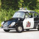 世界で最もキュートなパトカー!スバル360のニュージーランド警察仕様が競売に登場