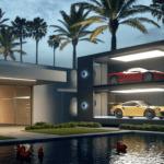 「スーパーカーをケース入りミニカーのように積んで置ける」ガレージが発売に!こんな家に住んでみたいものだ