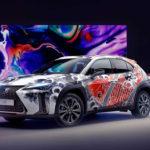 レクサスがまたしても謎なアートカー発表!タトゥーアーティストが実際に車体に入墨を彫った「タトゥーUX」