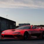 元フェラーリ、現ホンダのデザイナーが抱き続ける「80スープラの現代版」実現の夢。レクサスLCベースで実車化する計画も