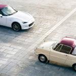 マツダが全モデルに「100周年特別記念車」を設定!1960年のR360へのオマージュとなる内外装を持つ、まさにスペシャルなクルマたち